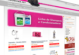 Distribuidora Pet ecommerce